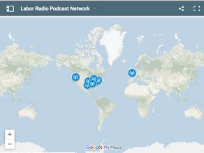 Labor Radio Podcast Network Map
