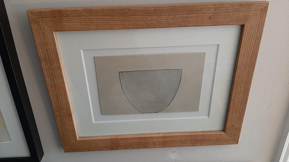 Bowl - Style of William Scott****SOLD********