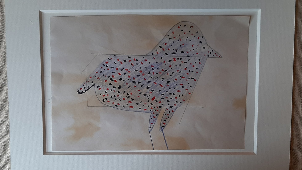 The Chick - after Bill Traylor