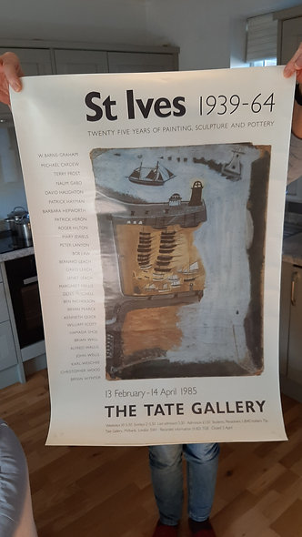 Tate Poster.   OFFER!!!!  This poster FREE with any purchase (normally £25)