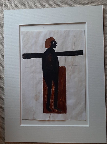 Standing Man - after  Bill Traylor