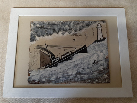 New Stock! Five more paintings added to the Alfred Wallis Shop today