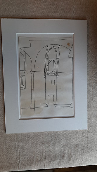 Line Drawing No 3 - after Ben NIcholson