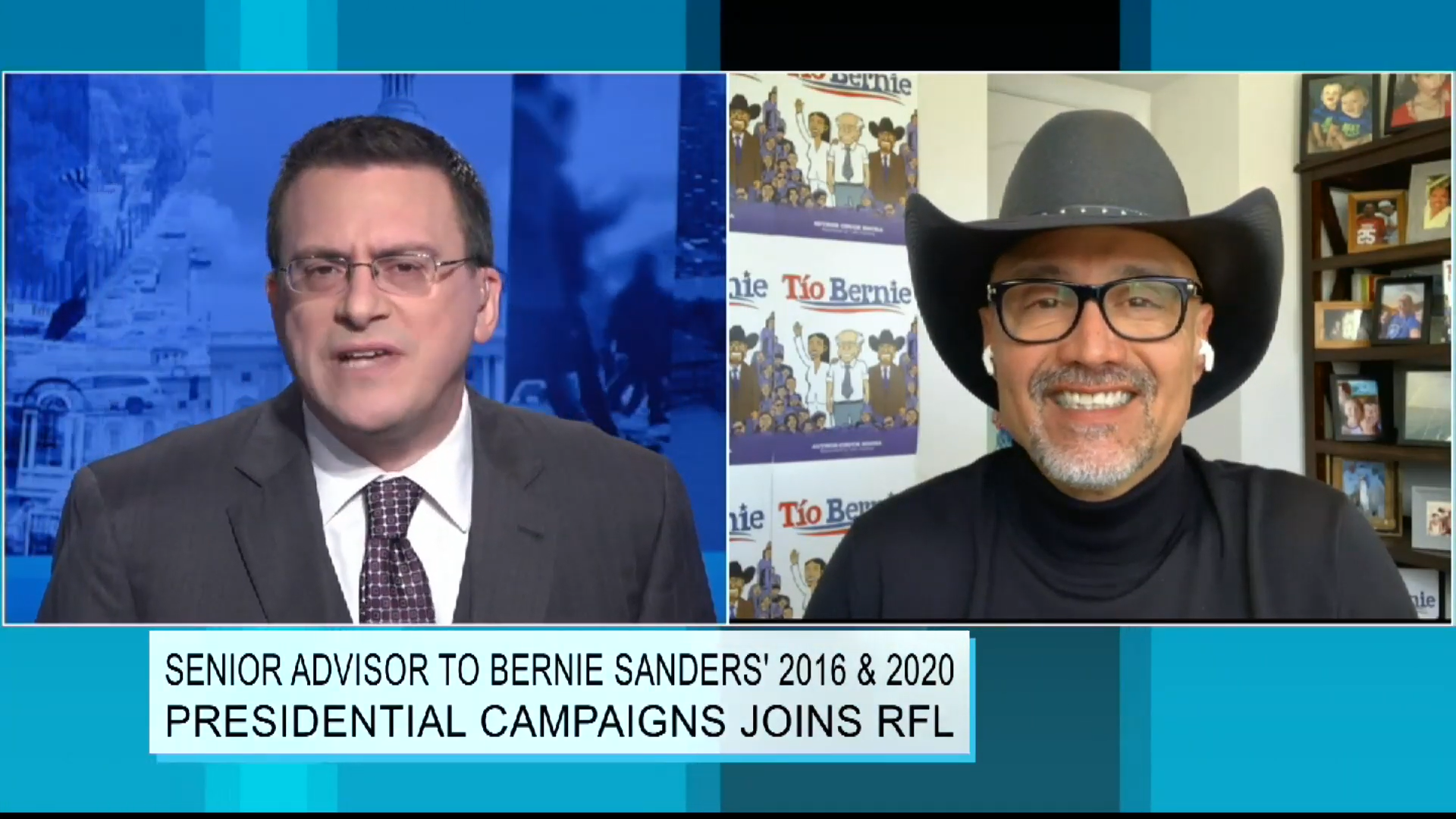 Senior Advisor to Bernie Sanders' 2016 &