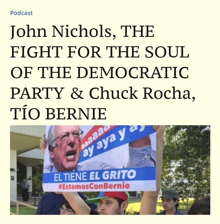 John Nichols, THE FIGHT FOR THE SOUL OF
