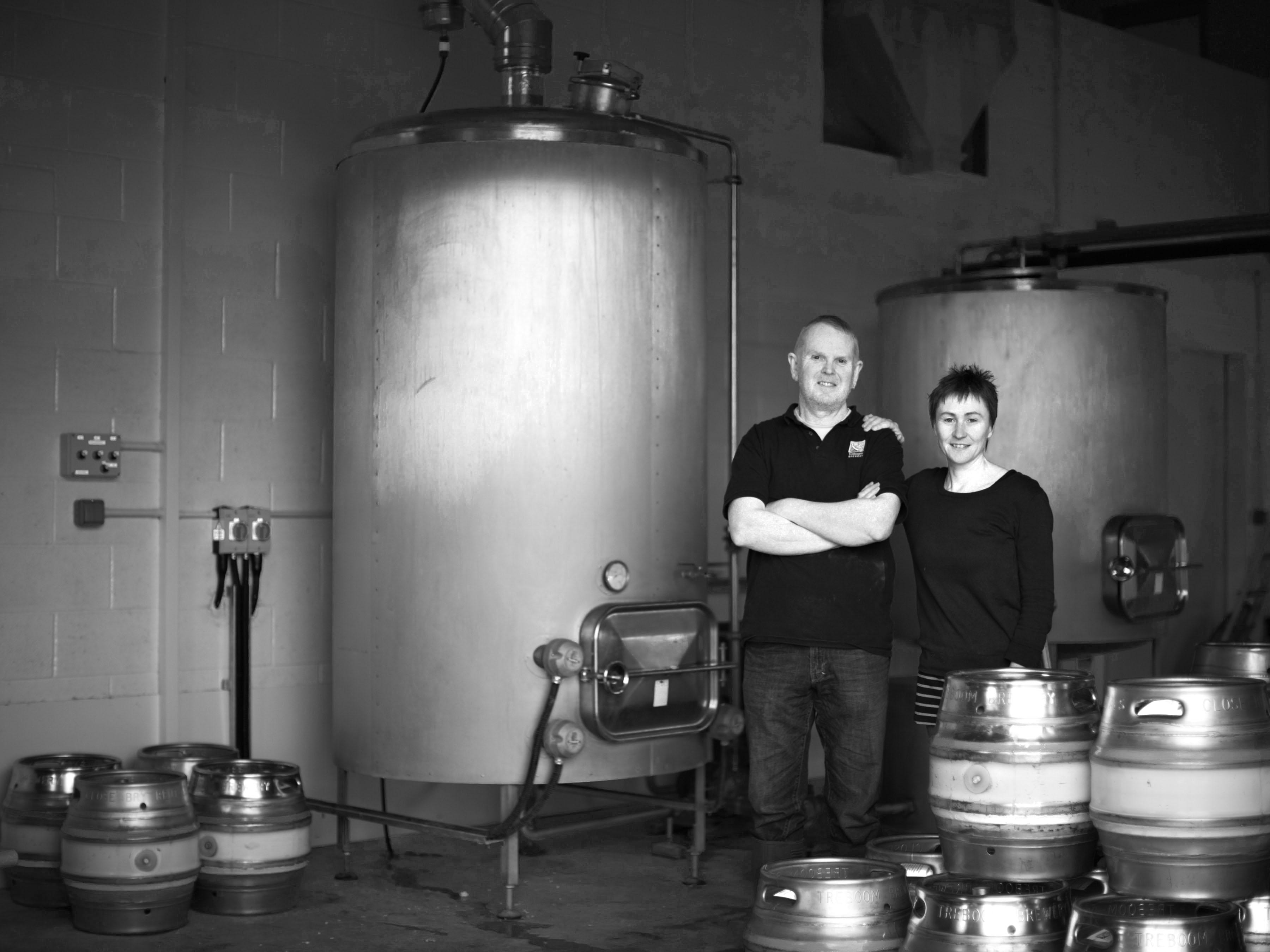 Treboom  Brewery_John & Jane_B&W