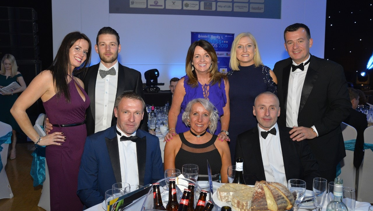 Leicester Mercury Business Awards - Eileen Richards Recruitment Table