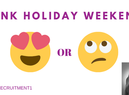 Bank Holiday Weekend - Love or Loathe?