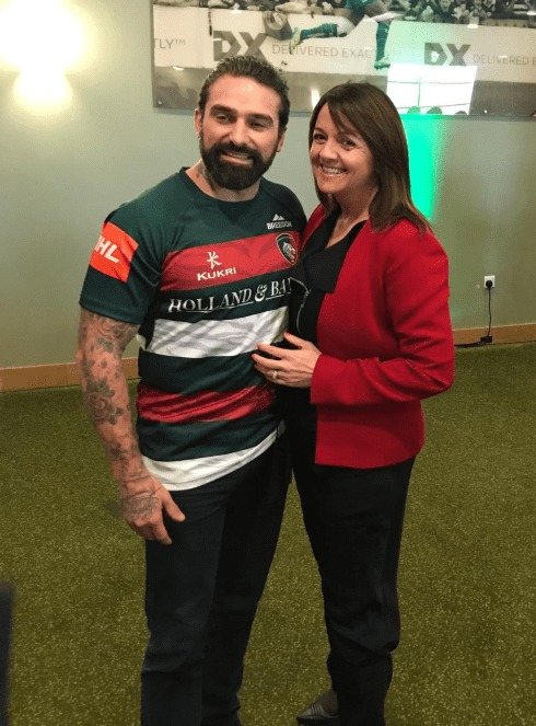 Ant Middleton at Tigers Business Lunch