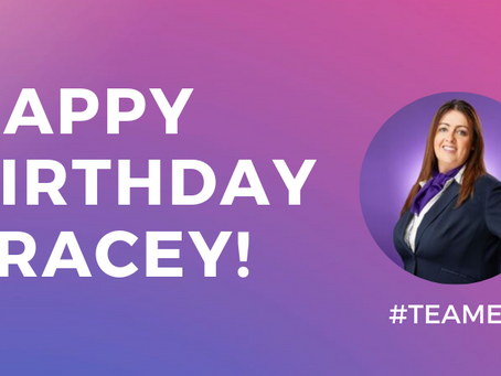 Happy Birthday Tracey!