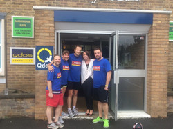Qdos cycle to space challenge