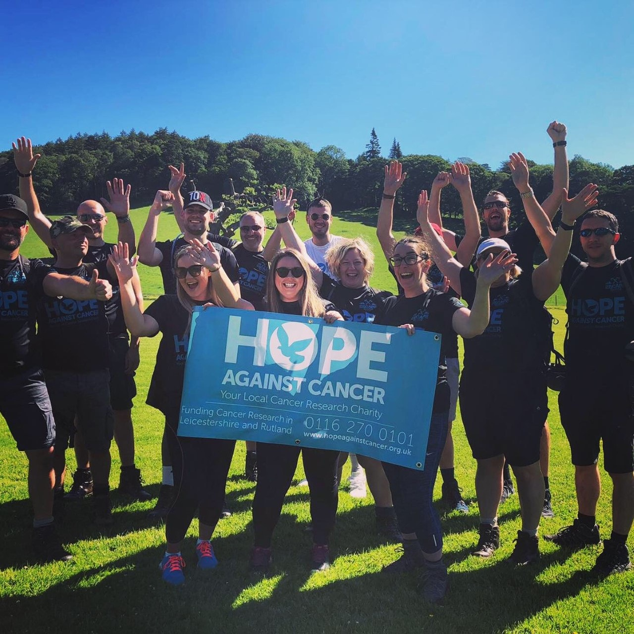 Hope Against Cancer 2019 Escape The Wild - Eileen Richards Recruitment Leicester