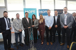 Hope Through Business Lunch - Eileen Ric