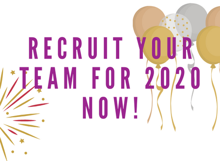 Recruit your 2020 team!