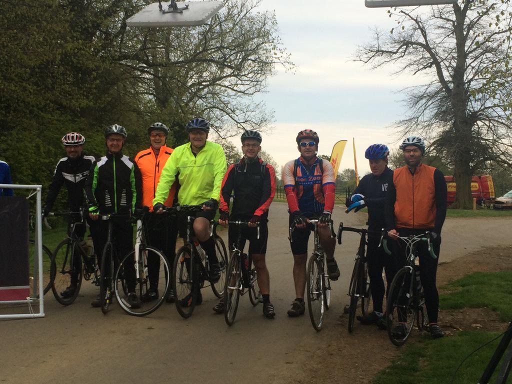 Wooden Spoon cycle to Norfolk