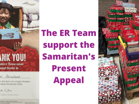 The ER Team support the Samaritan's Present Appeal!