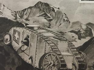 Wie der Panzer (nicht) in die Schweiz kam