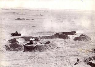 Panzer beherrschen das Gefechtsfeld