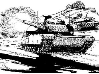 Einsatz eines US Army Tank Platoon