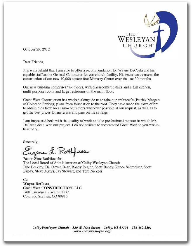 Colby Wesleyan Church
