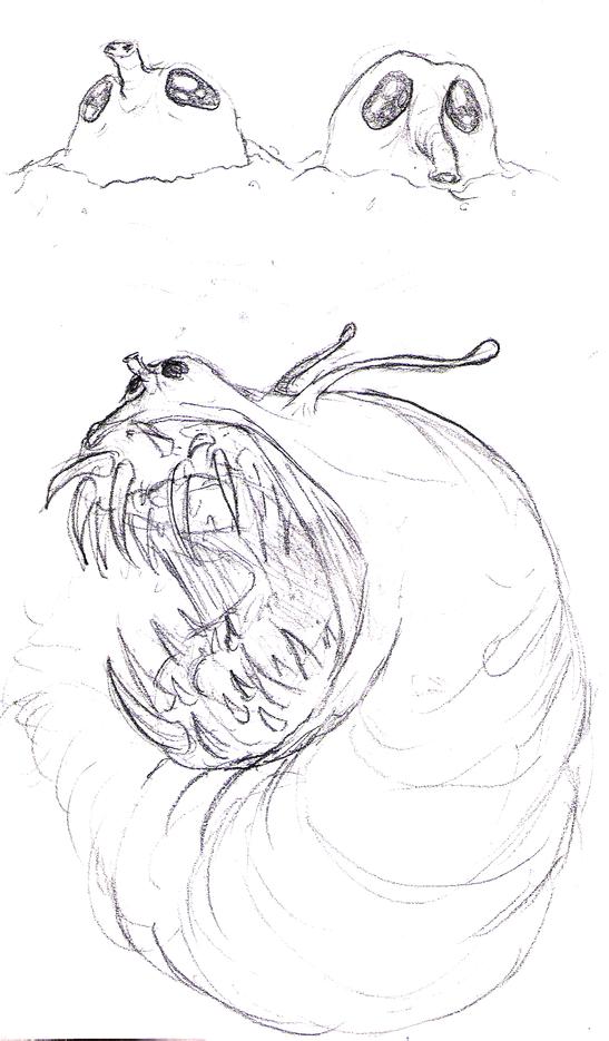 Guilt monster design