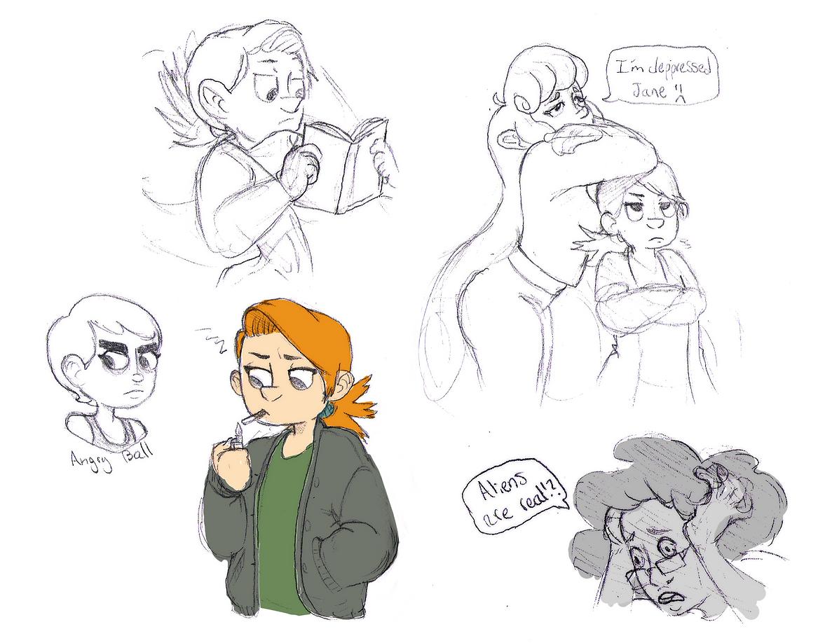 Gang sketches