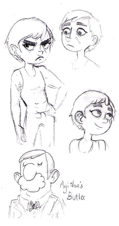 Agitha sketches