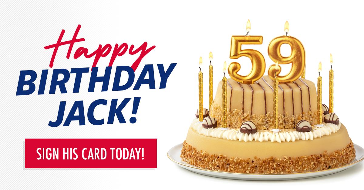 Happy Birthday Jack!