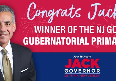 BIG Win for Jack Ciattarelli