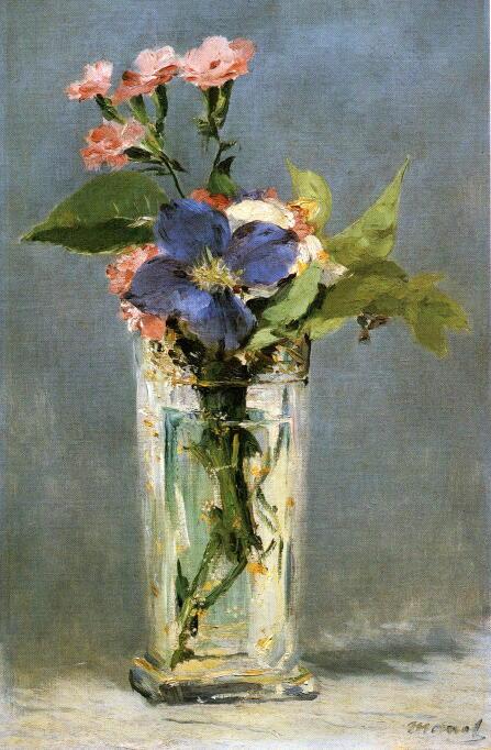 クリスタルガラスの花瓶
