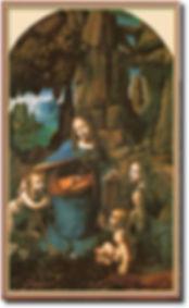 岩窟の聖母 ダ・ヴィンチ