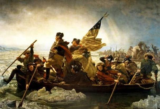 デラウェア川を渡るワシントン