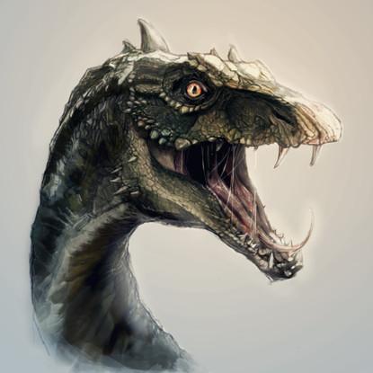 Dino Character Design