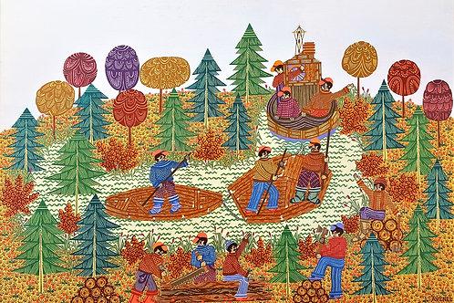Le train de bois