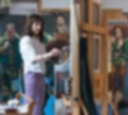 -OLIVIA GAY Roche Gardies peintre portra