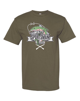 HAF Sportsman Club Tee (Forest Green)
