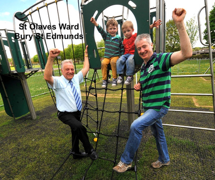 New Play Area on Tollgate Recreation Ground