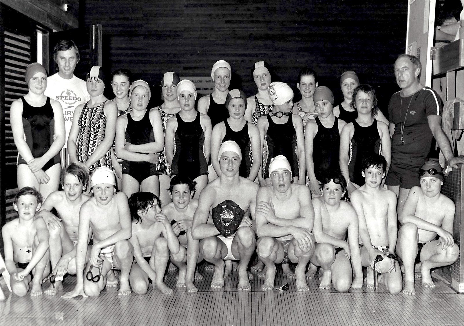 Bury St Edmunds Swimming Club 1978