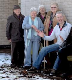 New Bench & Bin at Newbury Community Centre