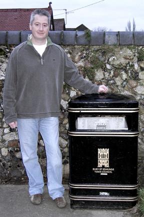 1st Bury St Edmunds Town Council Bins
