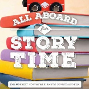 All Aboard for Storytime @ Railroad Museum
