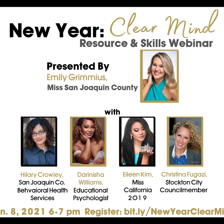 New Year: Clear Mind Webinar