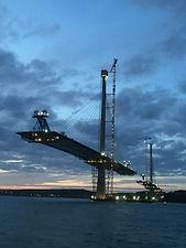 Queensferry Bridge, Construction