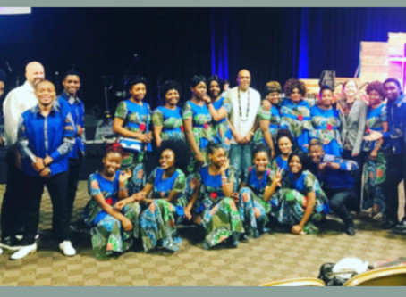 Swahili Choir Leads Worship at Annual Conference