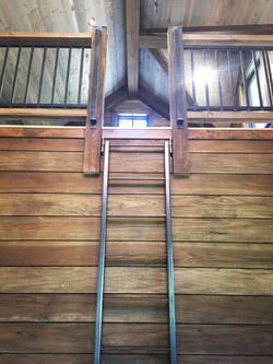custom built steel ladder
