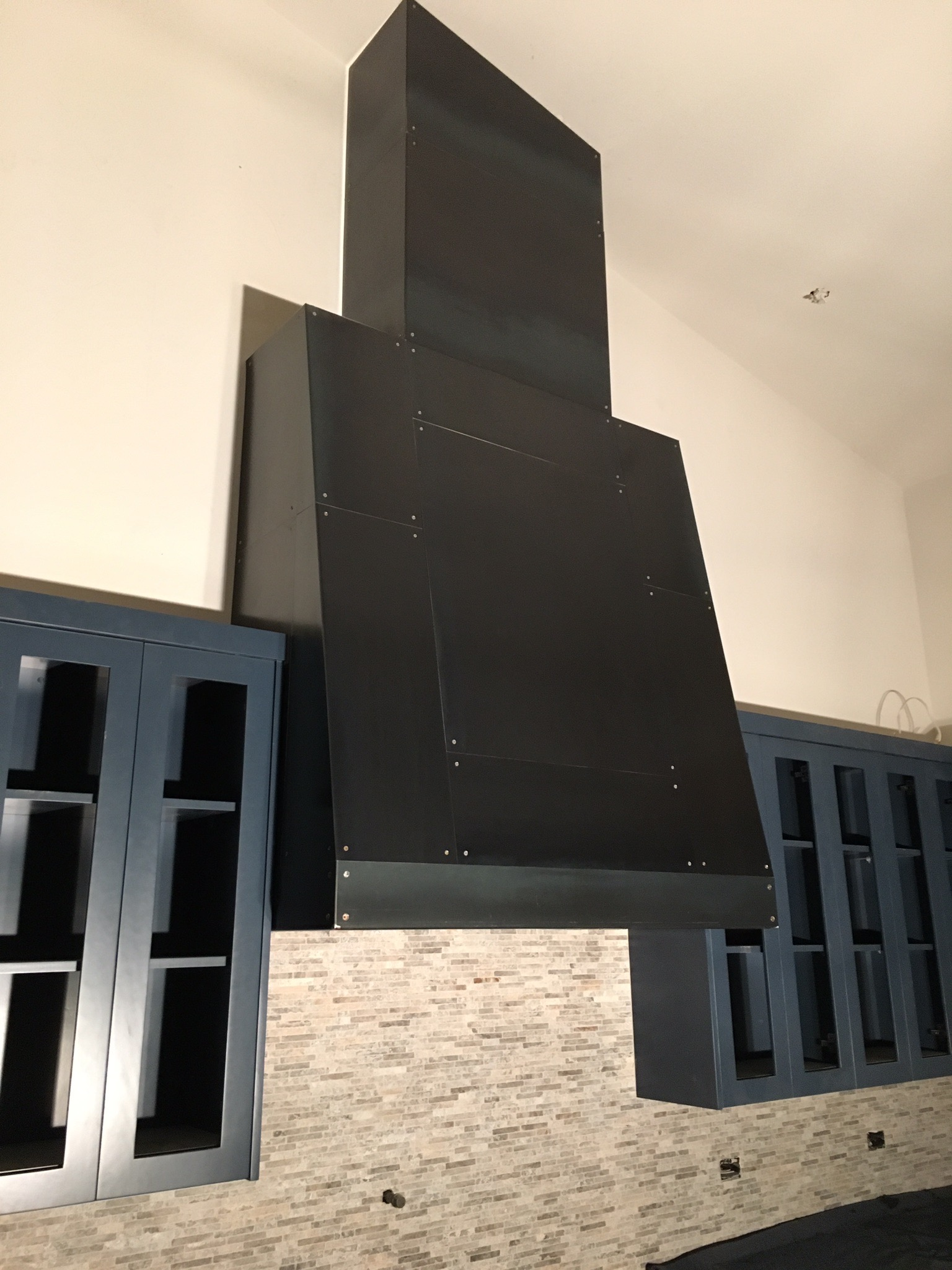 steel hood for cooking range