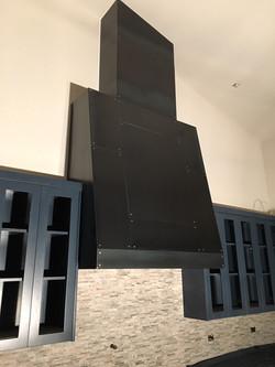 steel hood for cooking range