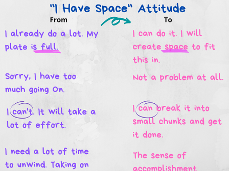 Cultivating a Positive Attitude