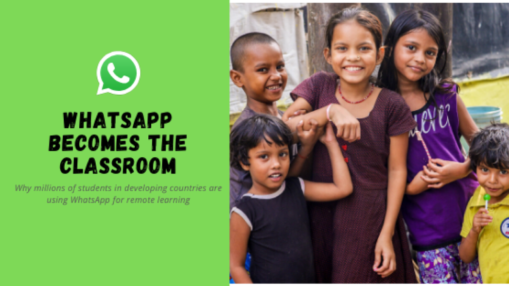 How WhatsApp is taking over classrooms during remote learning