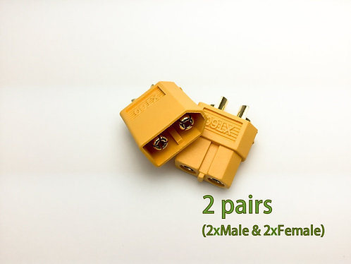 Nylon XT60 Connectors Male/Female (2 pairs) GENUINE